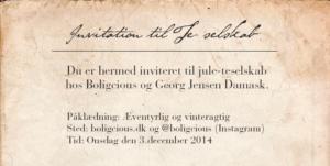 Stjernedrys og eventyrstøv – til teselskab med Georg Jensen Damask