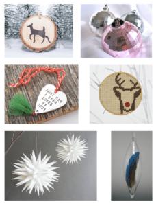 Ugens Etsy-fund: Julepynt