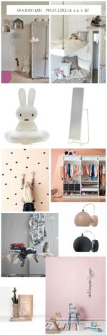 Moodboard: Makeover af pigeværelse 4-8 år