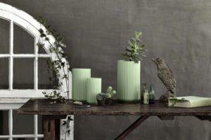 Ikonisk porcelæn til forårsbuketter, bord og kontor