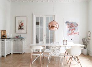 Lys og smuk stue