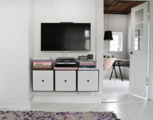 Mit nye TV møbel