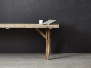 Rå og bæredygtige møbler fra Vægterdesign