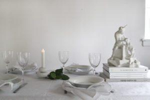 Borddækning med Hammershøi fra Kahler (Give Away)