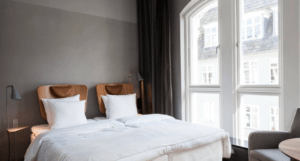 Rå smukke beton vægge med Kabe Copenhagen