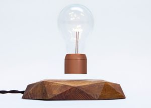 Floating light bulb