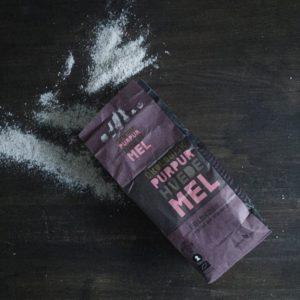 Lækkert brød med purpur mel