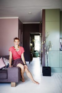 Isabelle McAllisters smukke farverige hjem