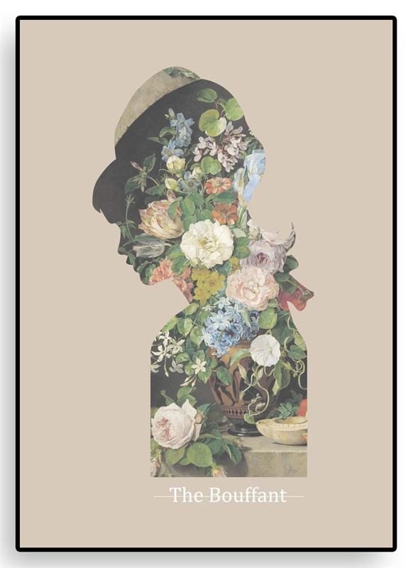 the-bouffant-art-print-kunst