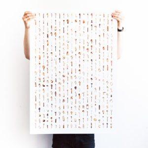 365 skeer – Dagens poster
