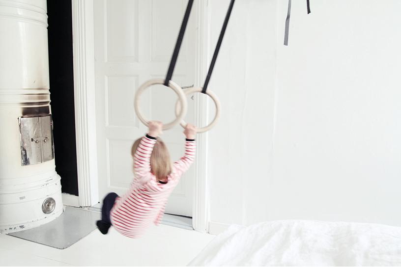 Gymnastik i stuen på den lækre måde