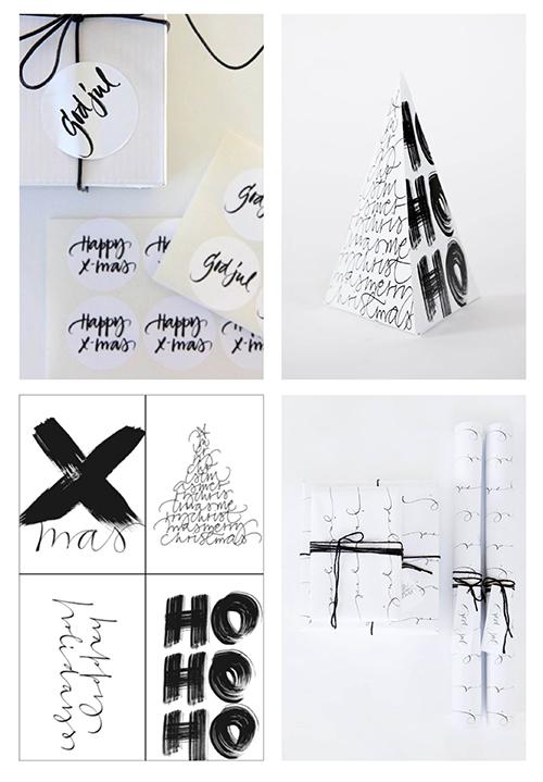 Grafisk Julepynt