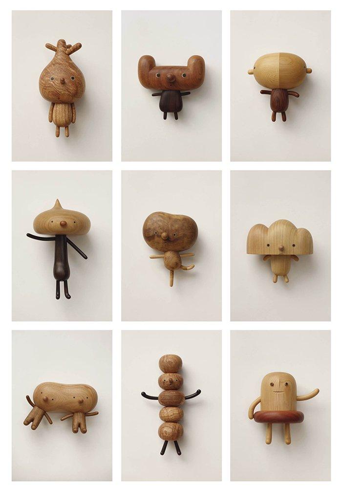 Finurliger figurer og trædyr