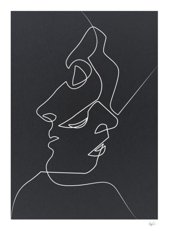 Cloise Noir - Dagens poster