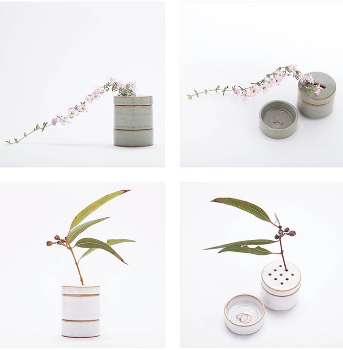 Vase og smykkeskrin i ét