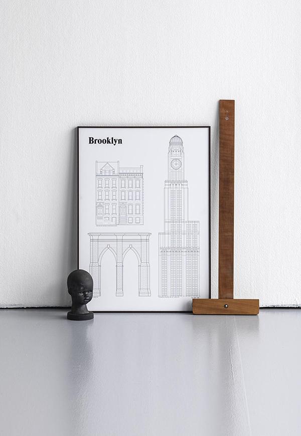 Landmarks - Dagens Poster