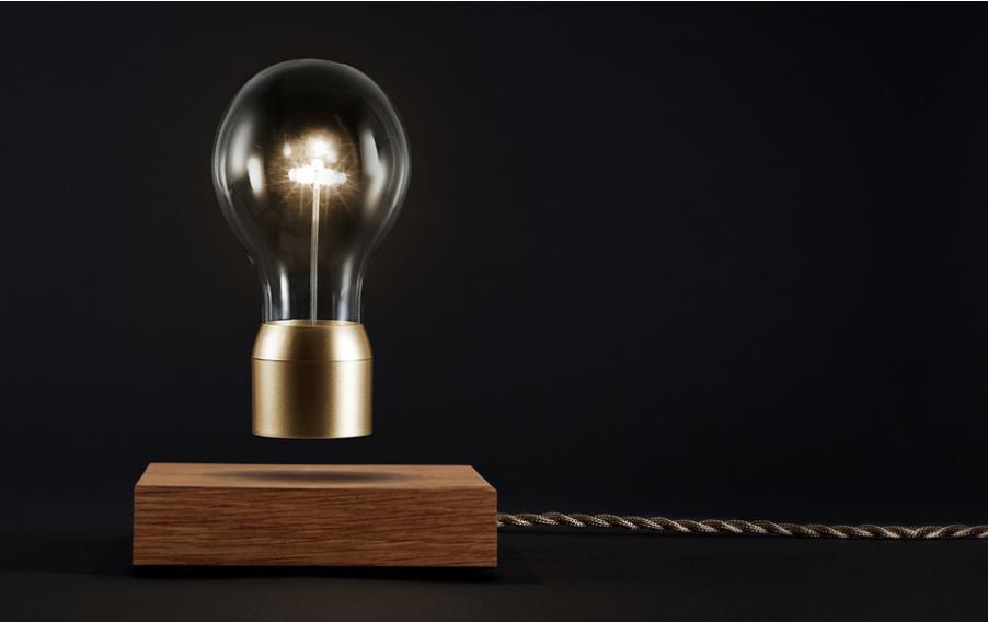 Smuk svævende lampe