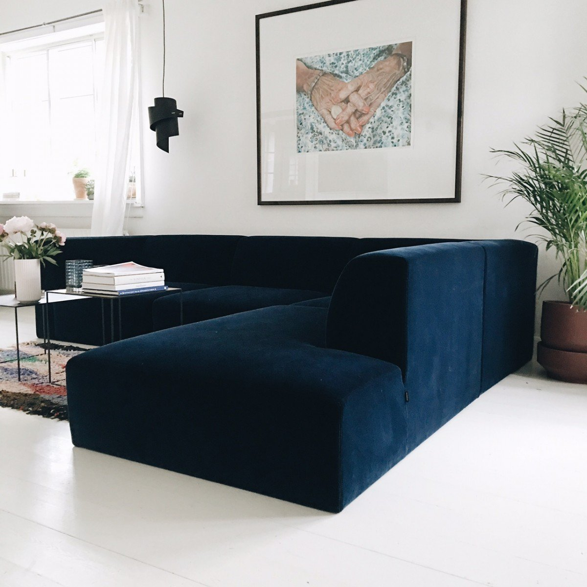 MY velvet dream sofa... Finally