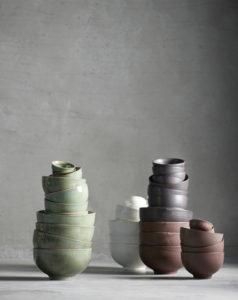 ine K Home keramik skåle