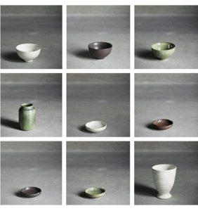 Tine K Home keramik toffee grøn og hvid