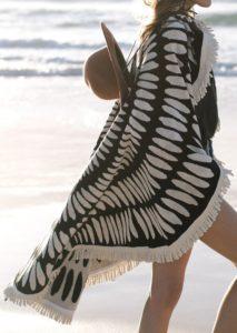 Mandala på stranden
