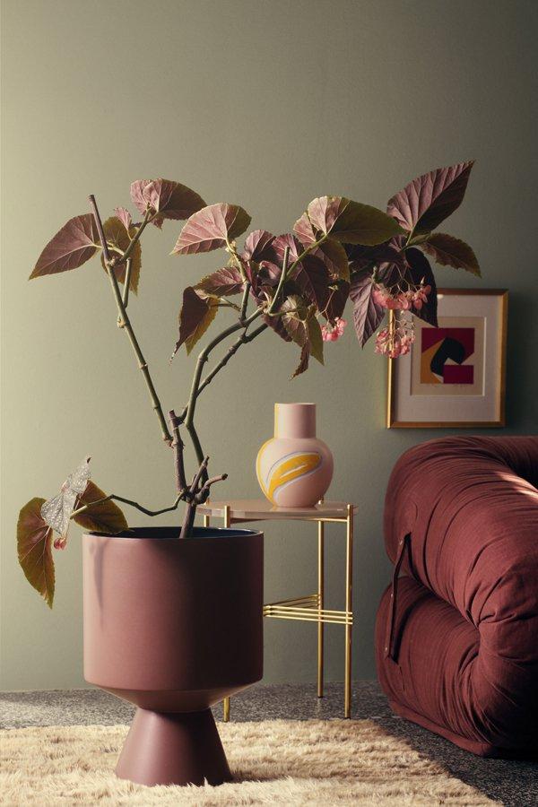 Fiora floor pot H500 bordeaux vase pink H 250_LOW