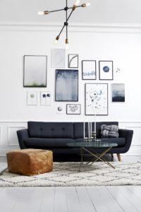 Sådan kan du hænge dine kunstprint