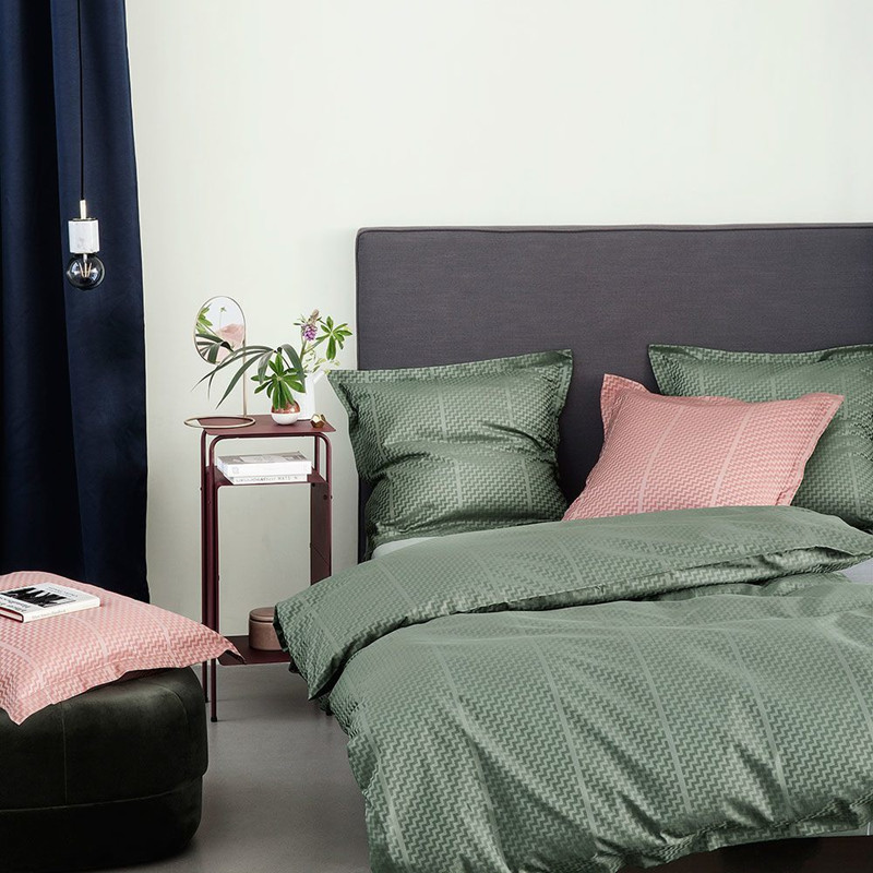 TRIPP_bed_linen_Fir_Green_interior