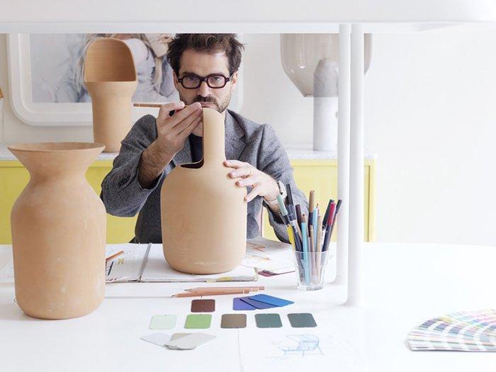 Gardenias Vase - Jamie Hayon