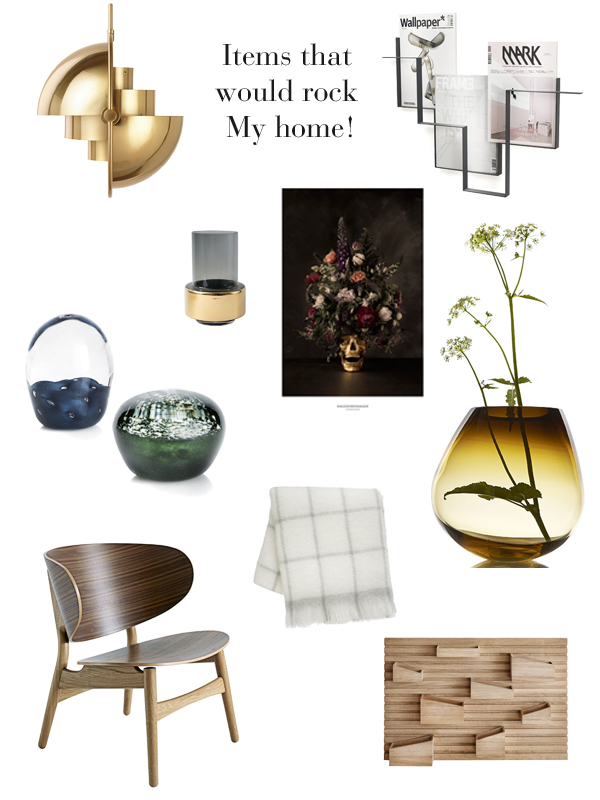 Items that would rock my home boligciousboligcious for Indoor design dk