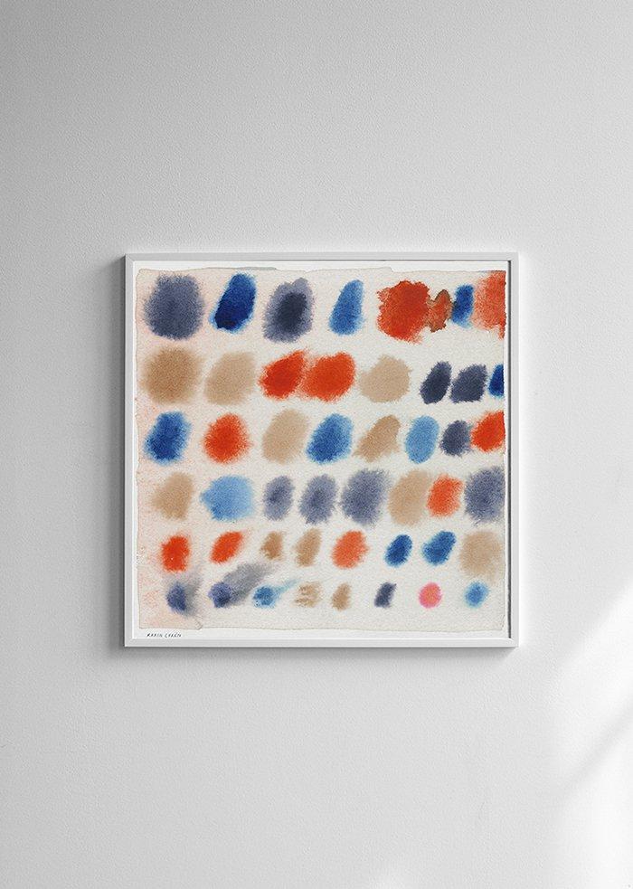 Karin Cyrén - Colors - plakat