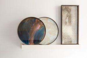 Kunstneriske spejle, bakker og borde… Wauw!