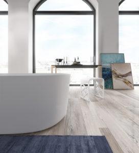 Badekarret det forener velvære, renhed og design