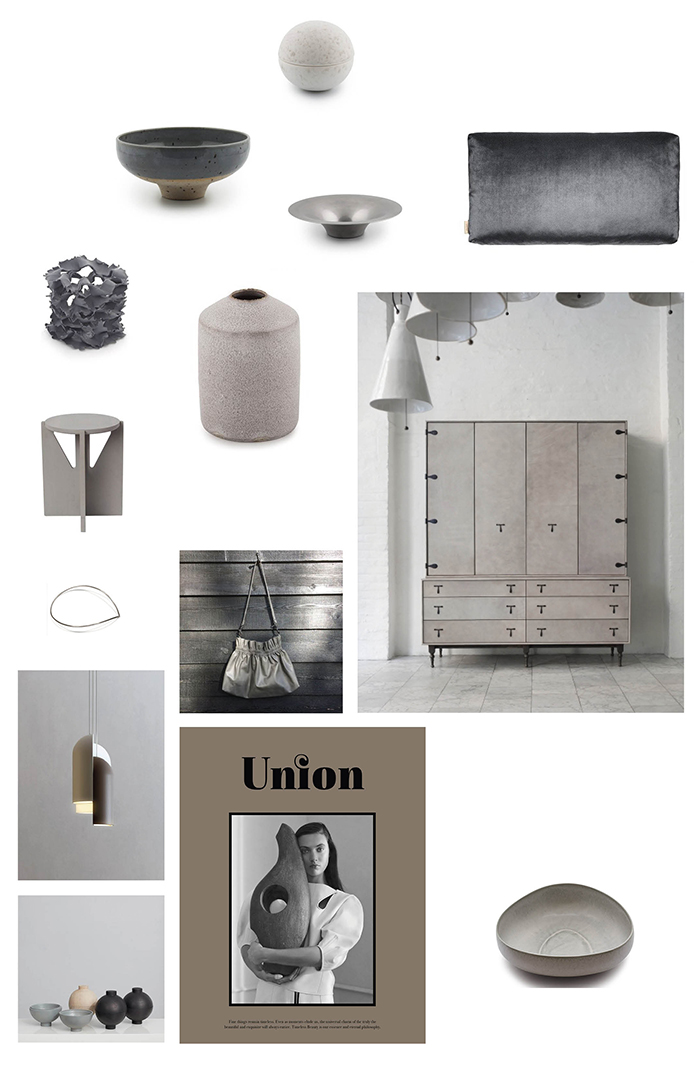 Gråt interiør - Grey Interior
