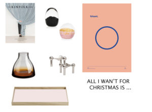 All I wan't for Christmas is …