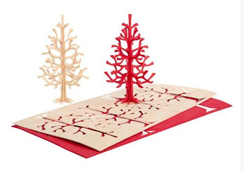 Julekort fra Lovi - Spruce Tree