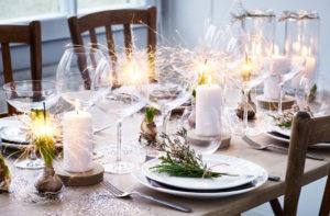 Sådan dækker du det flotte Nytårsbord!
