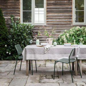 Sommer-borddækning