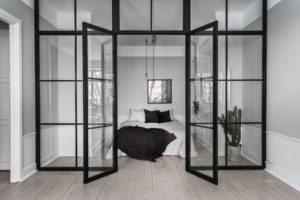 Et-værelses i rå/nordisk stil…