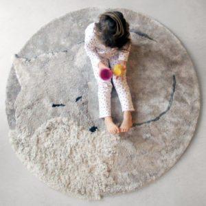 Mageløse og kunstneriske gulvtæpper til børneværelset