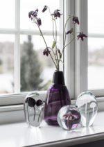 Brevvægte i glas og smeltede vaser