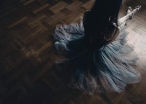 'Break' fotokunst af en ballerina af Maria Fynsk Norup