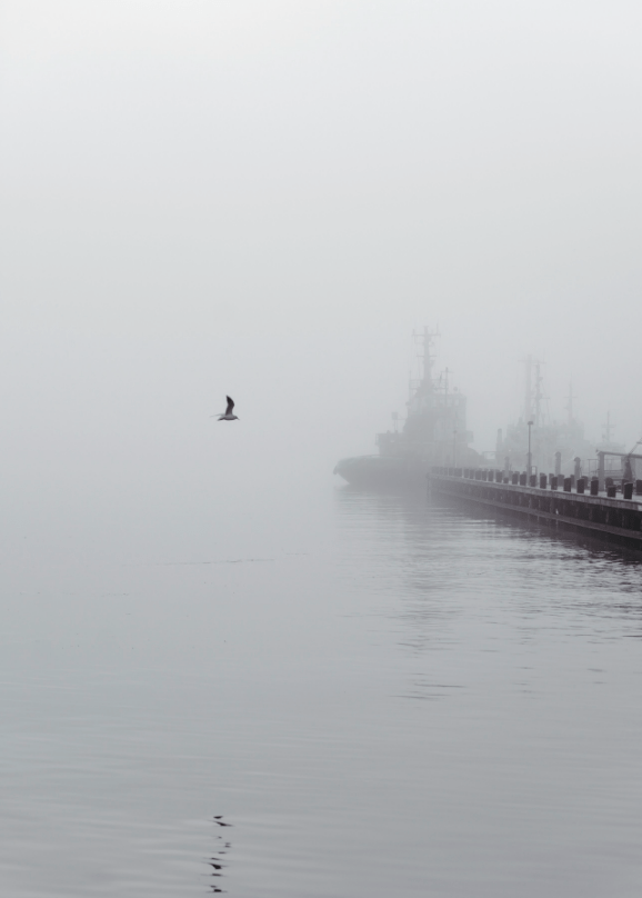 'Through The Mist' fotokunst af Maria Fynsk Norup