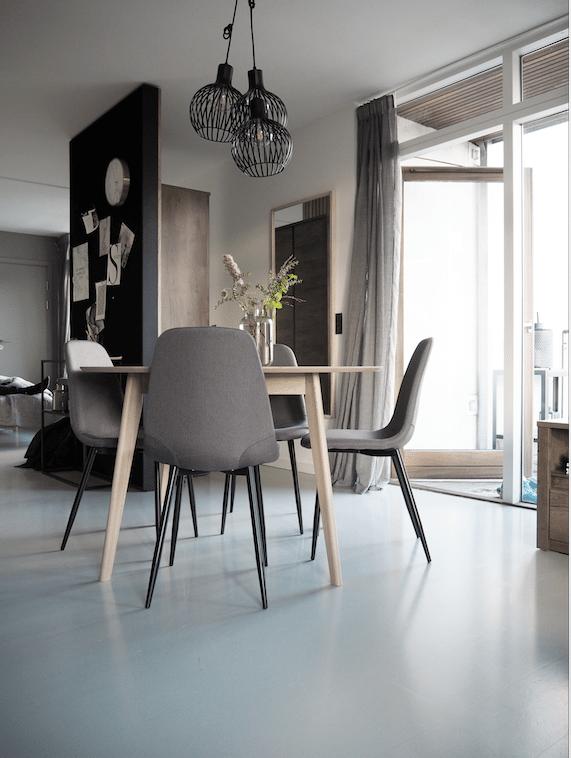 Lækker lejlighed indrettet med møbler fra JYSK