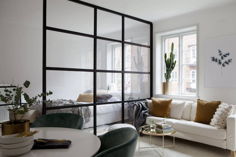 Picture of: Indretning Bolig Boligindretning Stue Sovevaerelse Livingroom Bedroom Boligcious