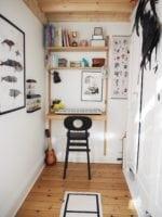 Wilfreds lillebitte værelse